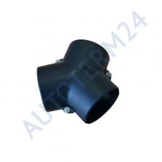 Y-Förmiger Adapter für die Luftleitung, Ø75x75x75 mit 120°