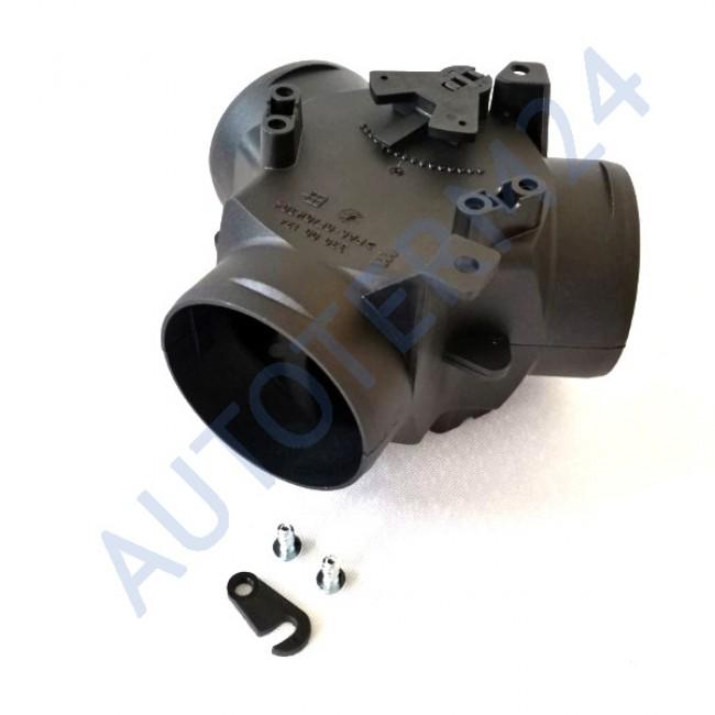 Y-Förmiger Adapter mit Regelklappe Ø3x60mm