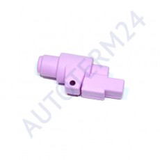 Schutzhülle und Schallabsorber für die Kraftstoffpumpe
