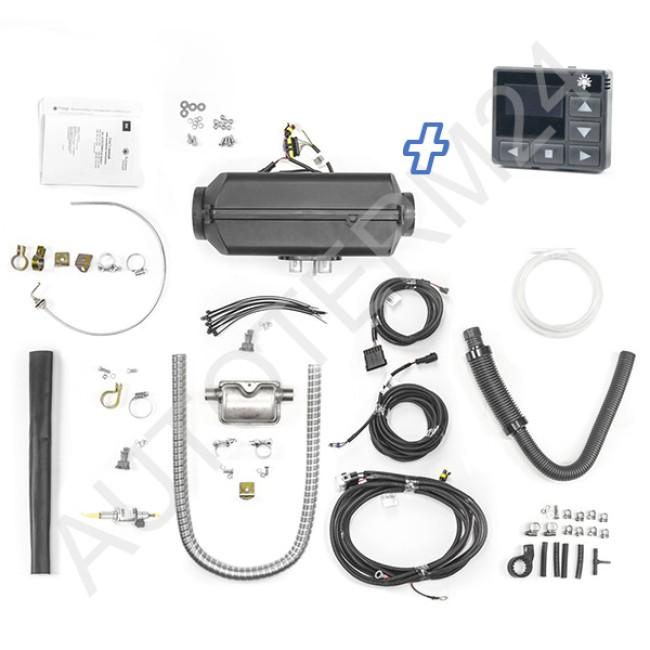 Warmduscher-Kit Planar / Autoterm Air 4D 4kW zum selber konfigurieren