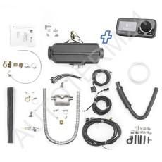 Planar 44D Diesel-Luftstandheizung 4kW 12V inkl. OLED Comfort Control, Abgasschalldämpfer, Höhenkit
