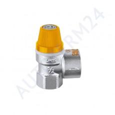 Sicherheitsventil 3,0 Bar mit Wasserablauf für Warmwasserboiler
