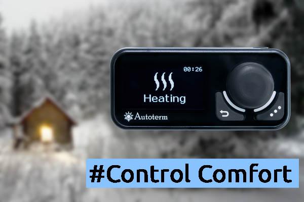 Das  neue Bedienteil Autoterm Comfort Control - Video